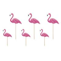 thumb-Cake topper flamingo (6 st.)-1