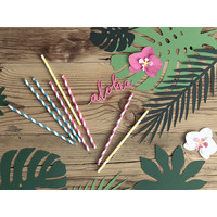 thumb-Feuille vert tropical  (21pcs)-3