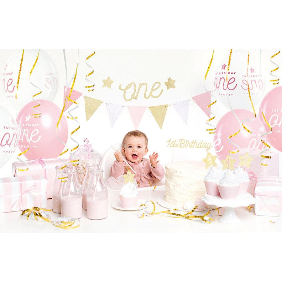 Partybox 1er anniversaire rose-2