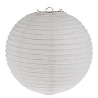 Lampion wit diameter 35 cm