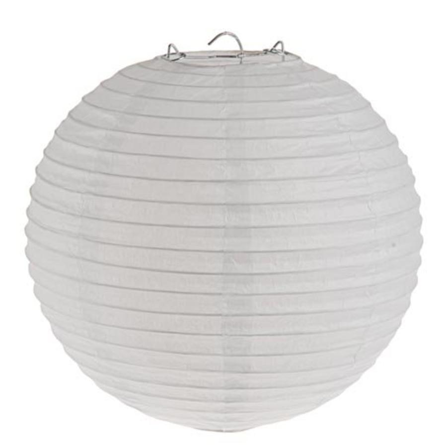 Lampion wit diameter 50 cm-1