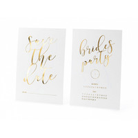 thumb-Carte Save the date brides party (10 pcs)-1