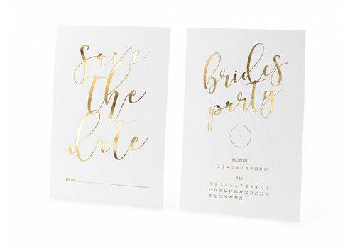 Carte Save the date brides party (10 pcs)