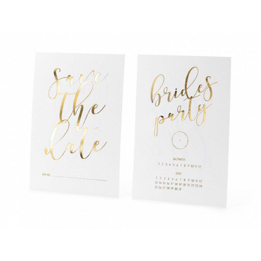 Carte Save the date brides party (10 pcs)-1