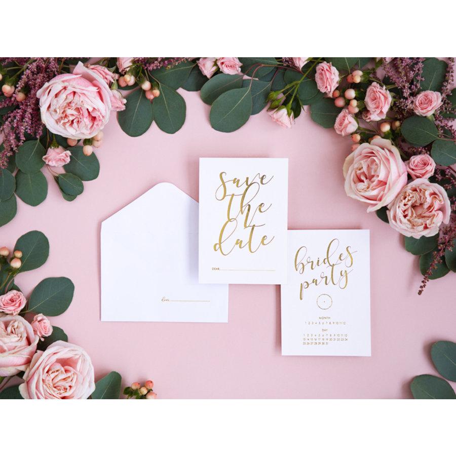 Carte Save the date brides party (10 pcs)-2