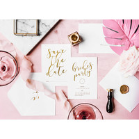 thumb-Carte Save the date brides party (10 pcs)-3