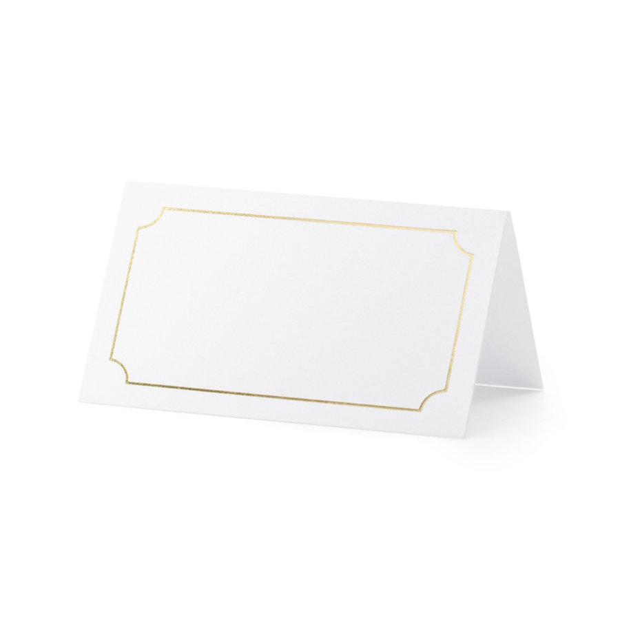 Plaatsnaamkaartje  goud (10 stuks)-1