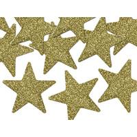 thumb-Tafelconfetti goud sterretjes 5 cm (8 st.)-1