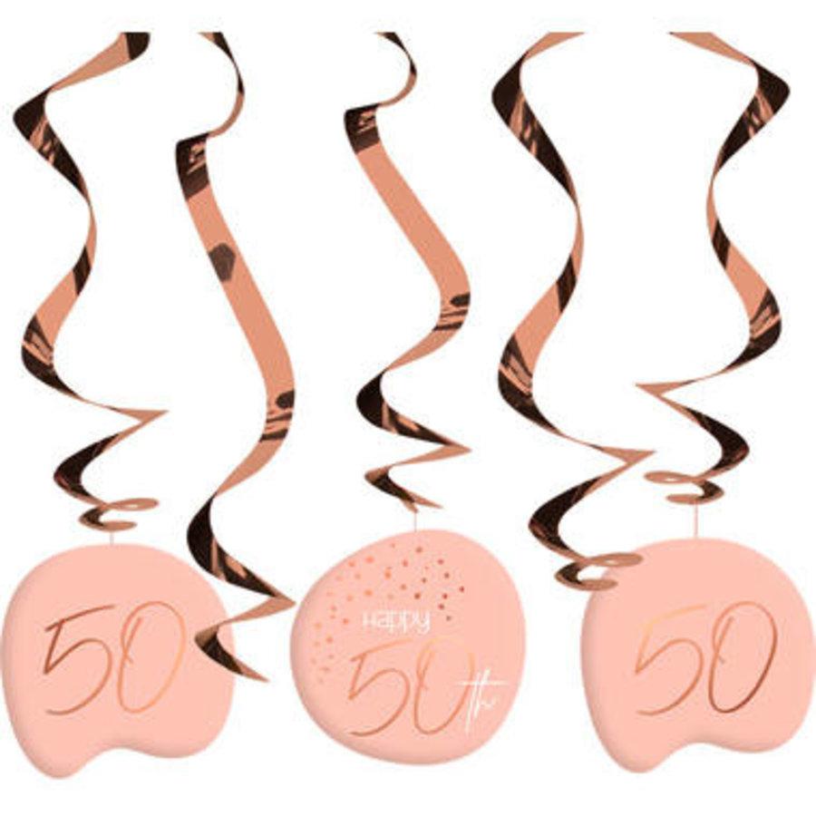 Swirl Happy 50th  zalm (5 st)-1