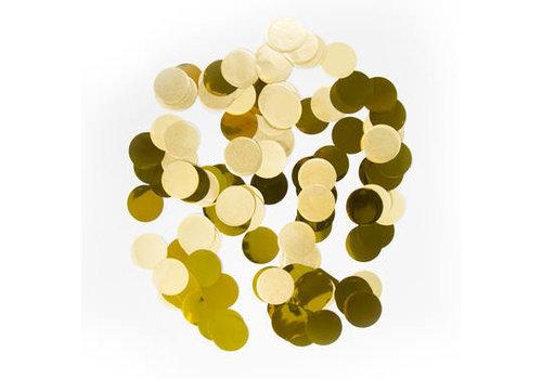 Confettis rond dorés