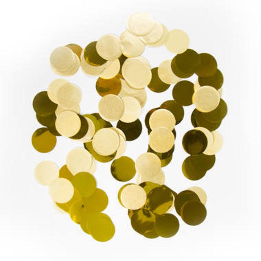 Tafelconfetti goud-1