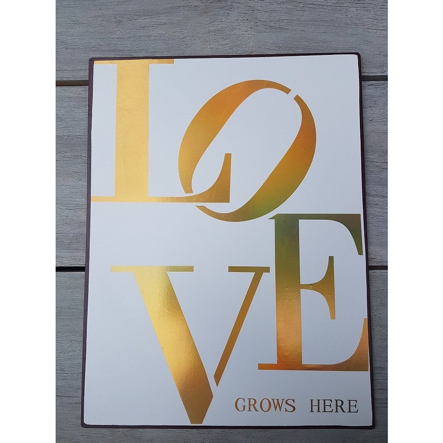 Panneau Love grows here-1