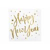 Perfect Decorations Servet Happy New Year goud (20 st.)
