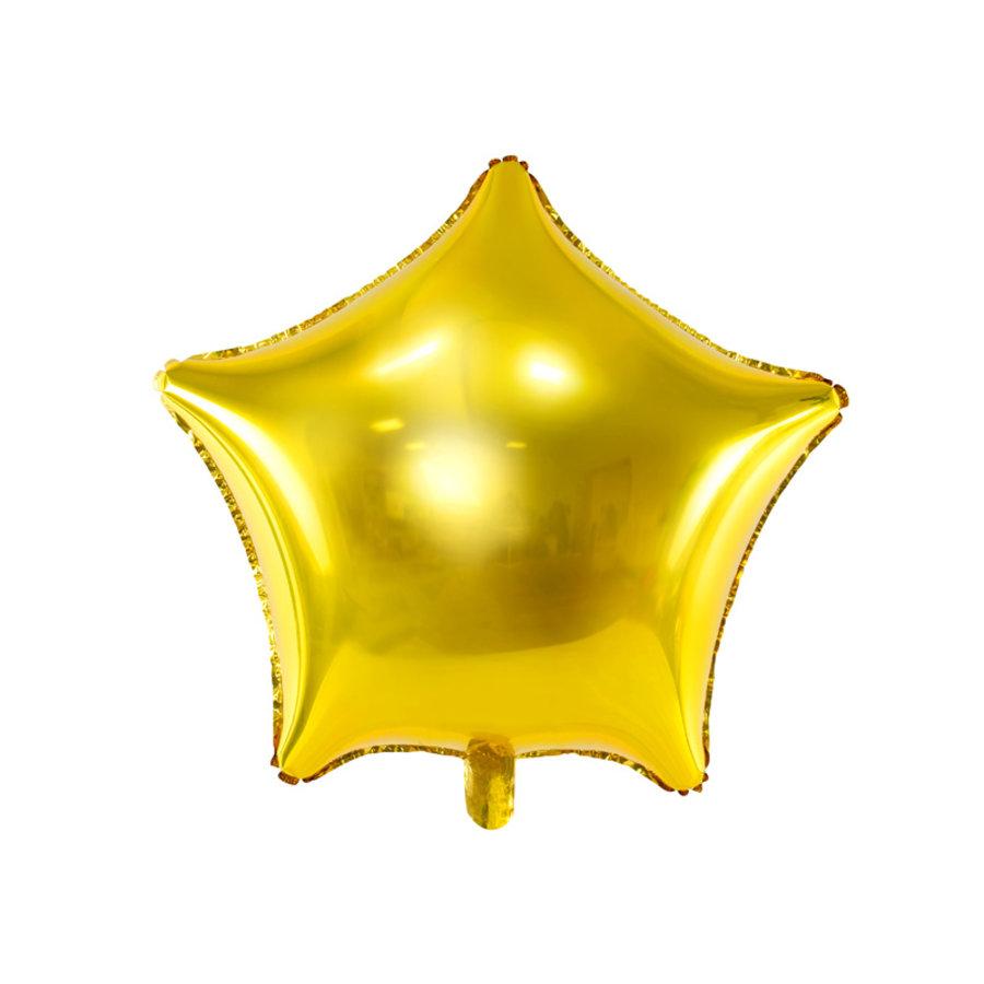 Folieballon ster goud (70 cm)-1