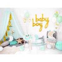 thumb-Folieballon baby goud-5