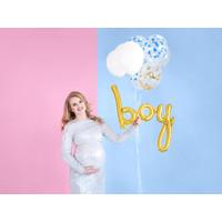 thumb-Folieballon Boy goud-3