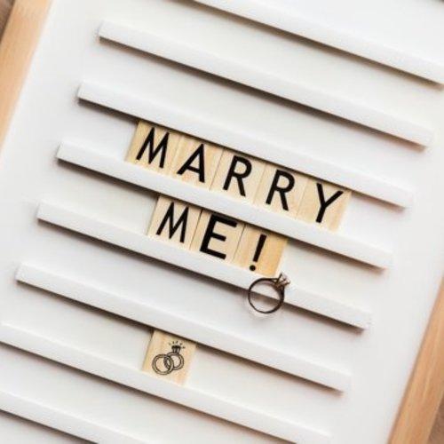Inspiratie voor je huwelijksaanzoek