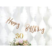 thumb-Slinger Happy Birthday rosé goud-3