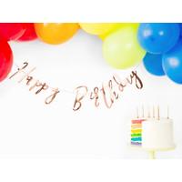 thumb-Slinger Happy Birthday rosé goud-6