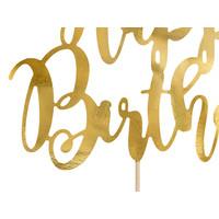 thumb-Taarttopper Happy Birthday goud-2