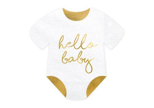 Servetten Hello Baby (20 st.)