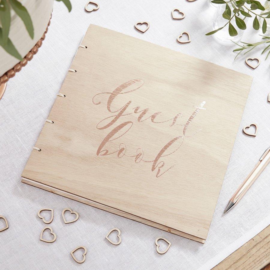 Gastenboek hout-2