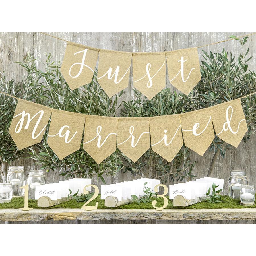 Just Married jute slinger-3