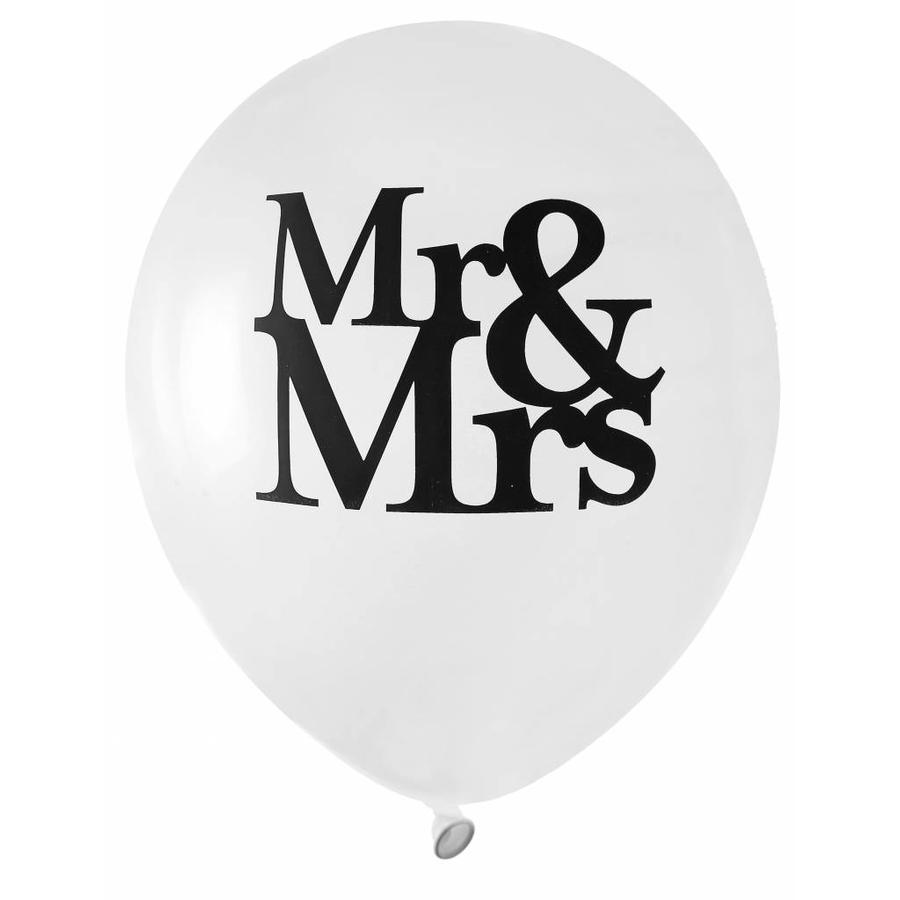 Ballon Mr en Mrs (8 stuks)-1