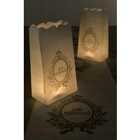 thumb-Candle Bag wit (6 stuks)-2