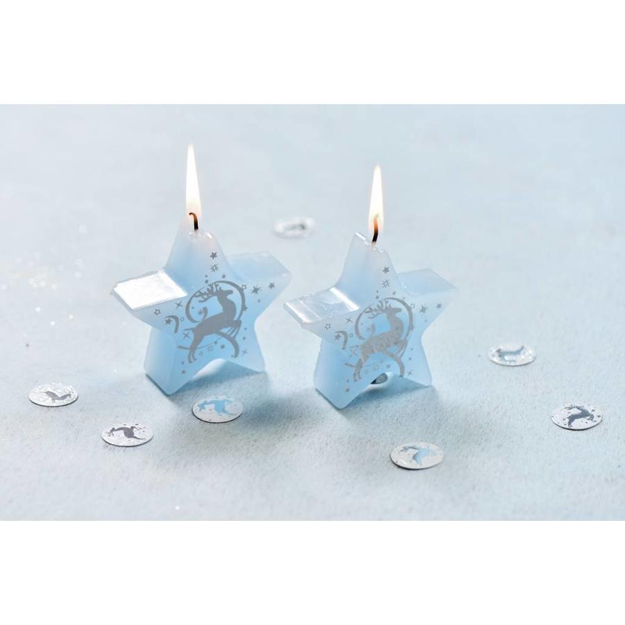Tafelconfetti rendier blauw-2