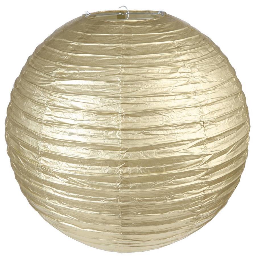 Lampion goud diameter 50 cm-1