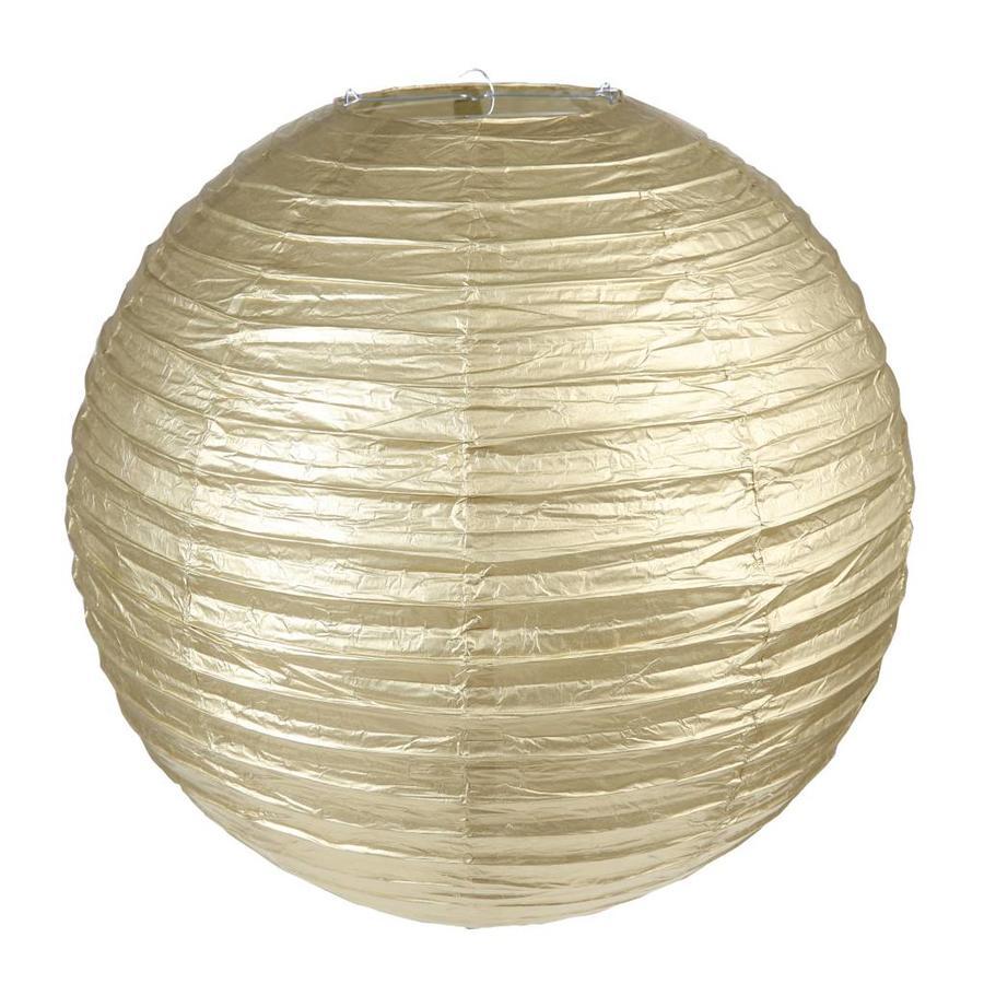 Lampion goud diameter 30 cm-1