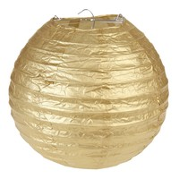 thumb-Lampion goud diameter 20 cm-1