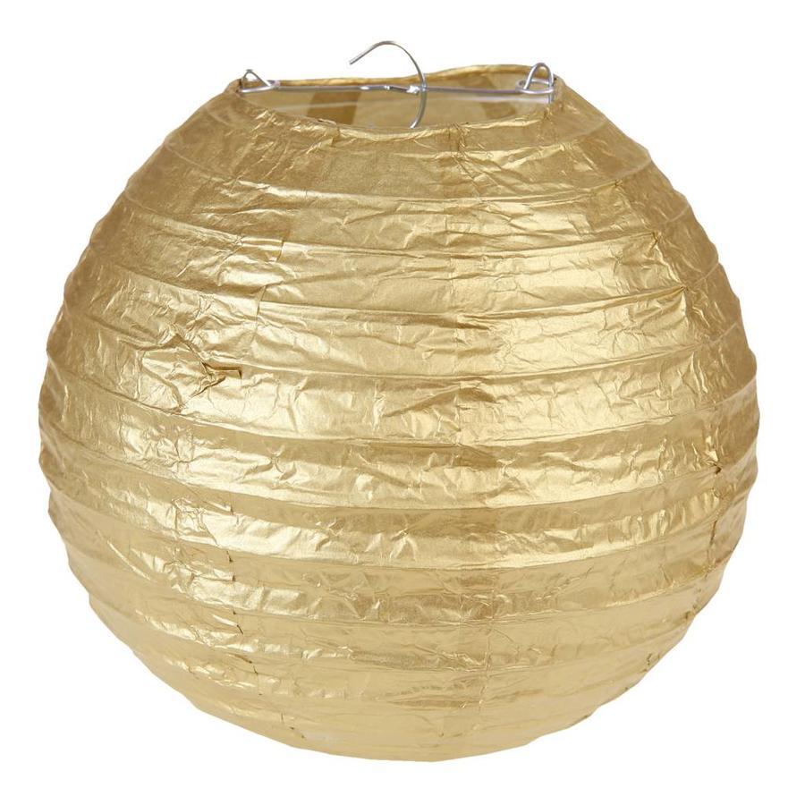 Lampion goud diameter 20 cm-1