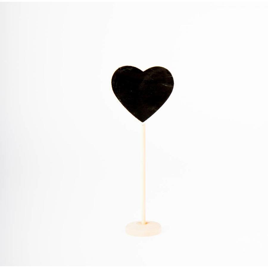 Krijtbord houder hartje (10 stuks)-1