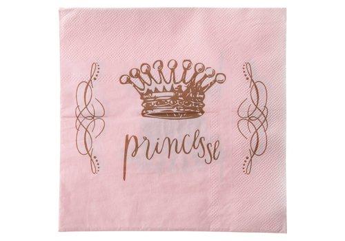 Servetten prinses (20 stuks)