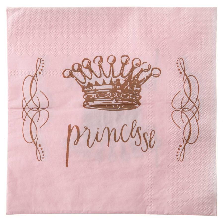 Servetten prinses (20 stuks)-1