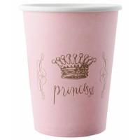 thumb-Roze bekertjes prinses (6 stuks)-1