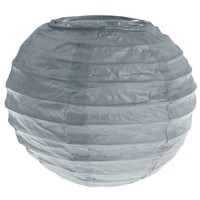 thumb-Lampion grijs (2 stuks) diameter 10 cm-1