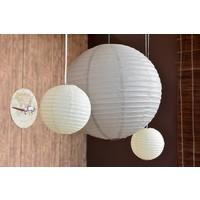 thumb-Lampion grijs (2 stuks) diameter 10 cm-2