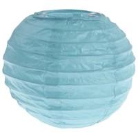 Lampion blauw(2 stuks) diameter 10 cm