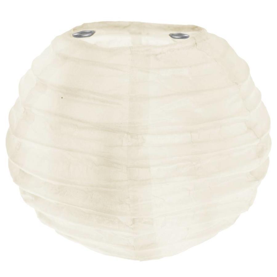 Lampion ivoor (2 stuks) diameter 10 cm-1