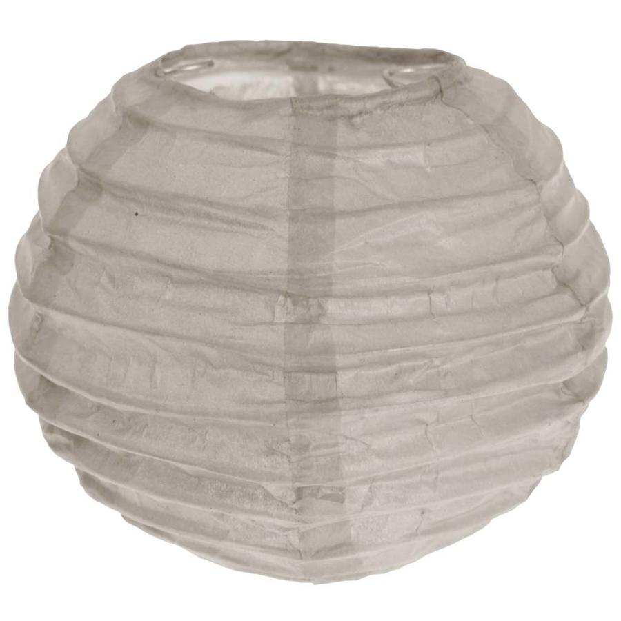 Lampion taupe (2 stuks) diameter 10 cm-1