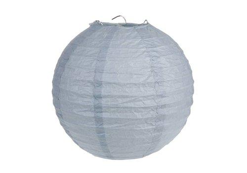 Lampion grijs (2 stuks) diameter 20 cm
