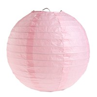 thumb-Lampion roze (2 stuks) diameter 20 cm-1