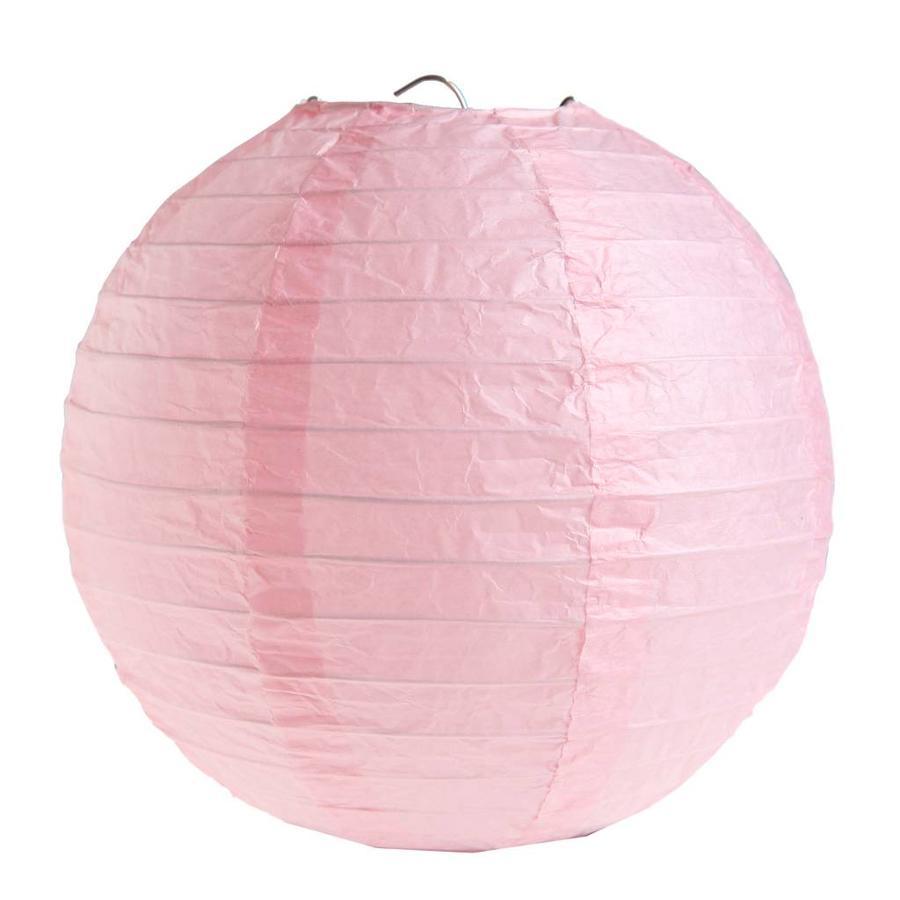 Lampion roze (2 stuks) diameter 20 cm-1