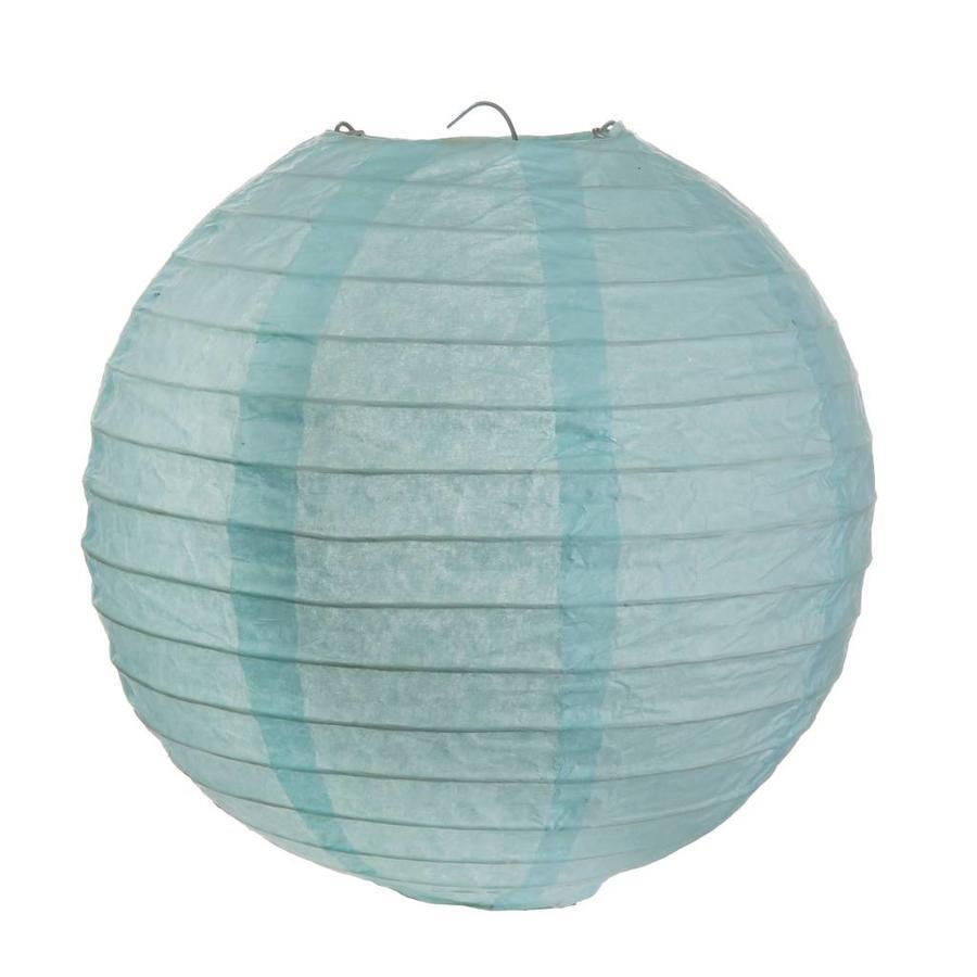Lampion blauw (2 stuks) diameter 20 cm-1