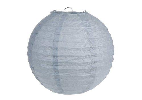 Lampion grijs (2 stuks) diameter 30 cm