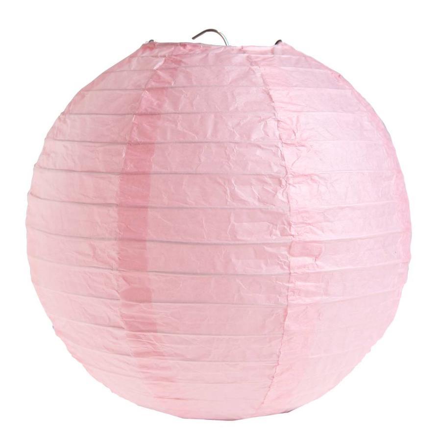 Lampion roze (2 stuks) diameter 30 cm-1