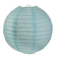 Lampion blauw (2 stuks) diameter 30 cm